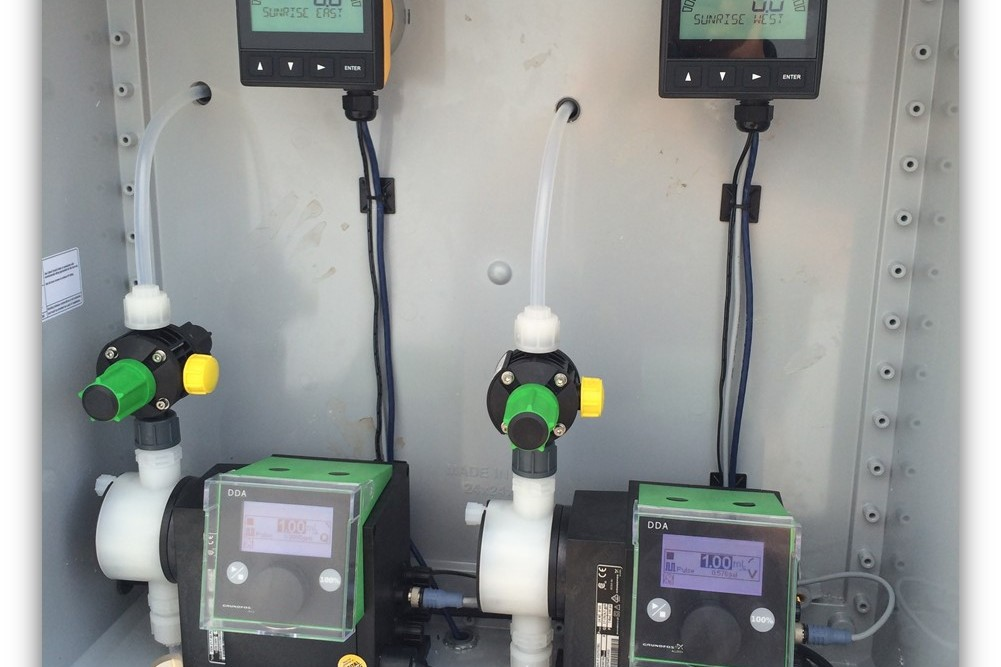 dosing equipment for water treatment