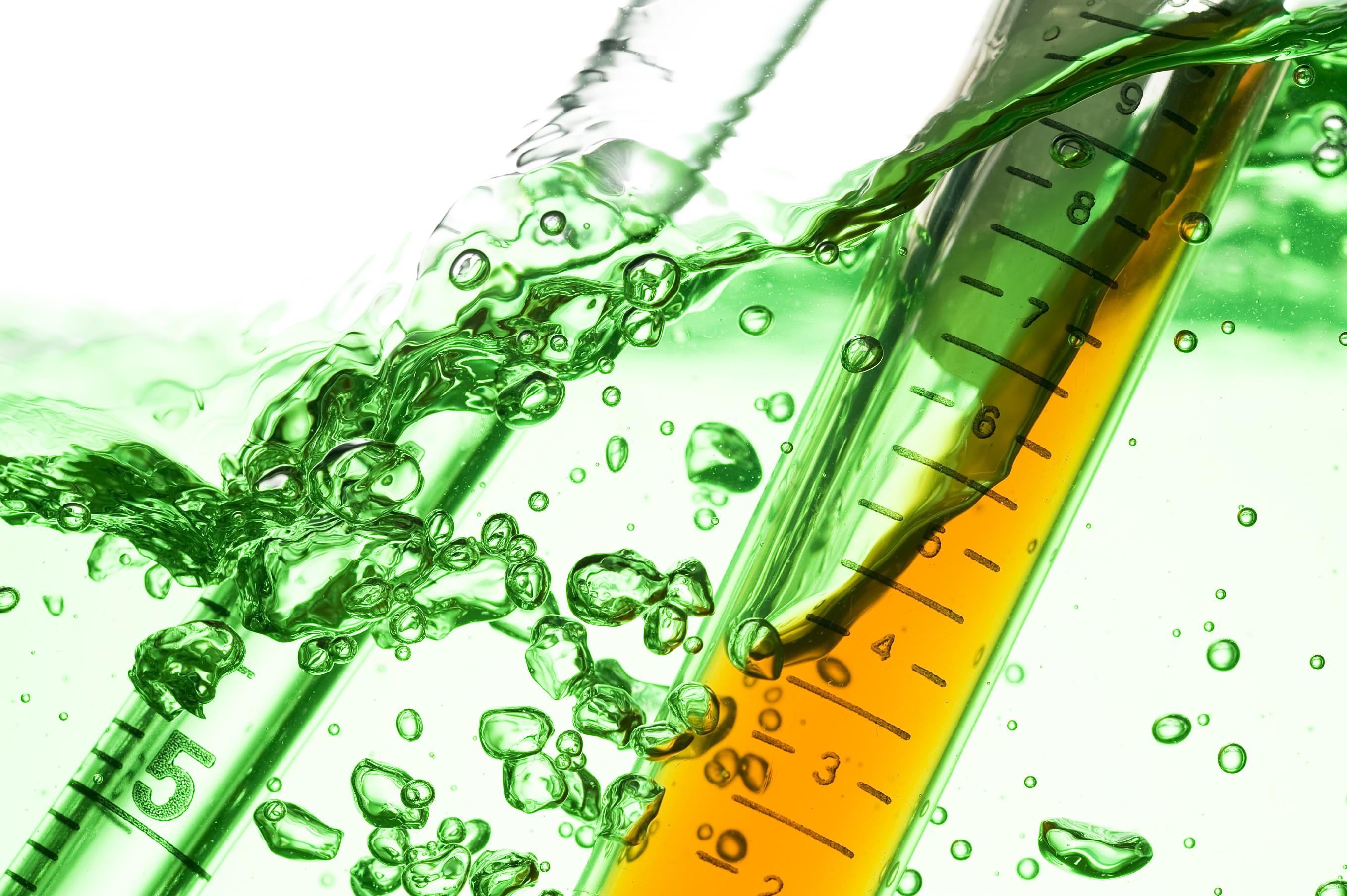 Chlorine Dioxide Testing Vile